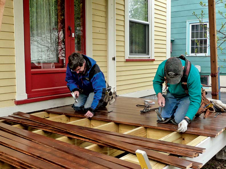Fixing The Porch Old House Journal