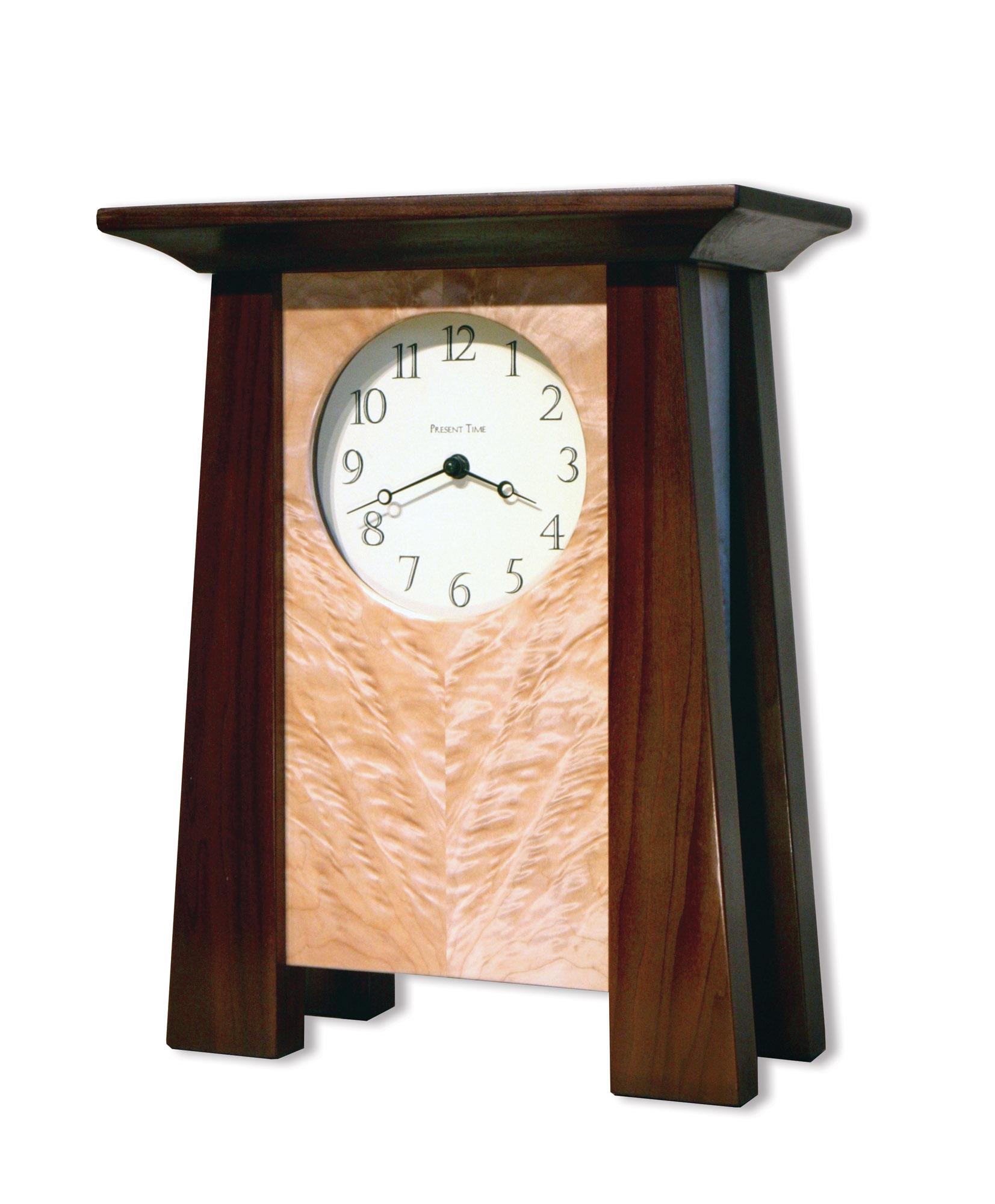 The Temple Bridge clock.