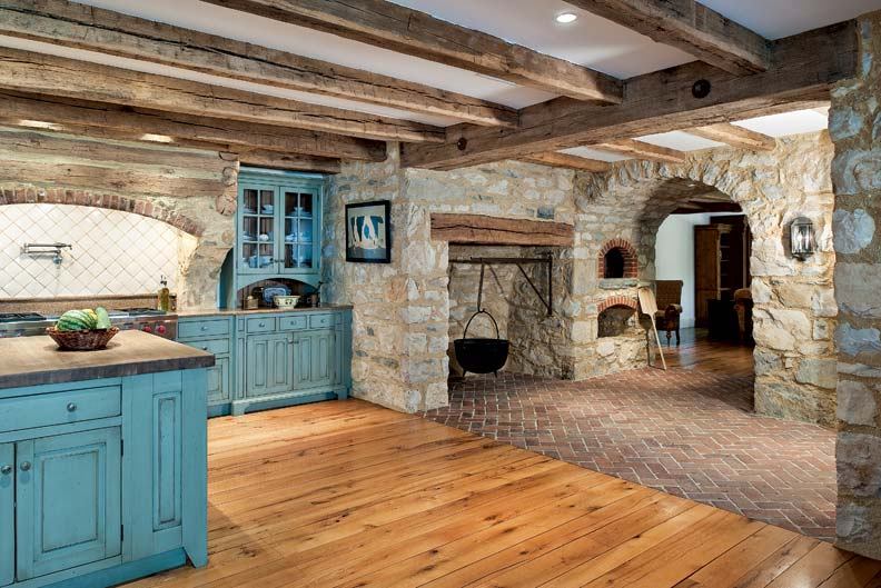 Colonial Kitchen Colonial Kitchen Rustic Kitchen Cabinets With Colonial Colonial