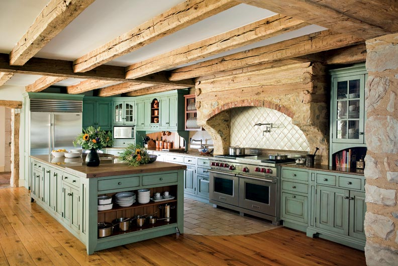Colonial Kitchen Primitive Colonial Inspired Kitchen Old House Restoration