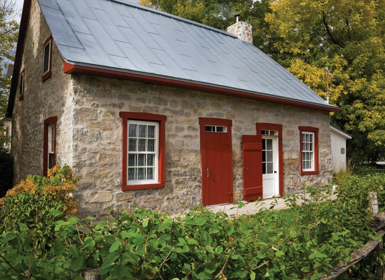 An 18th Century Stone House With Patina Restoration
