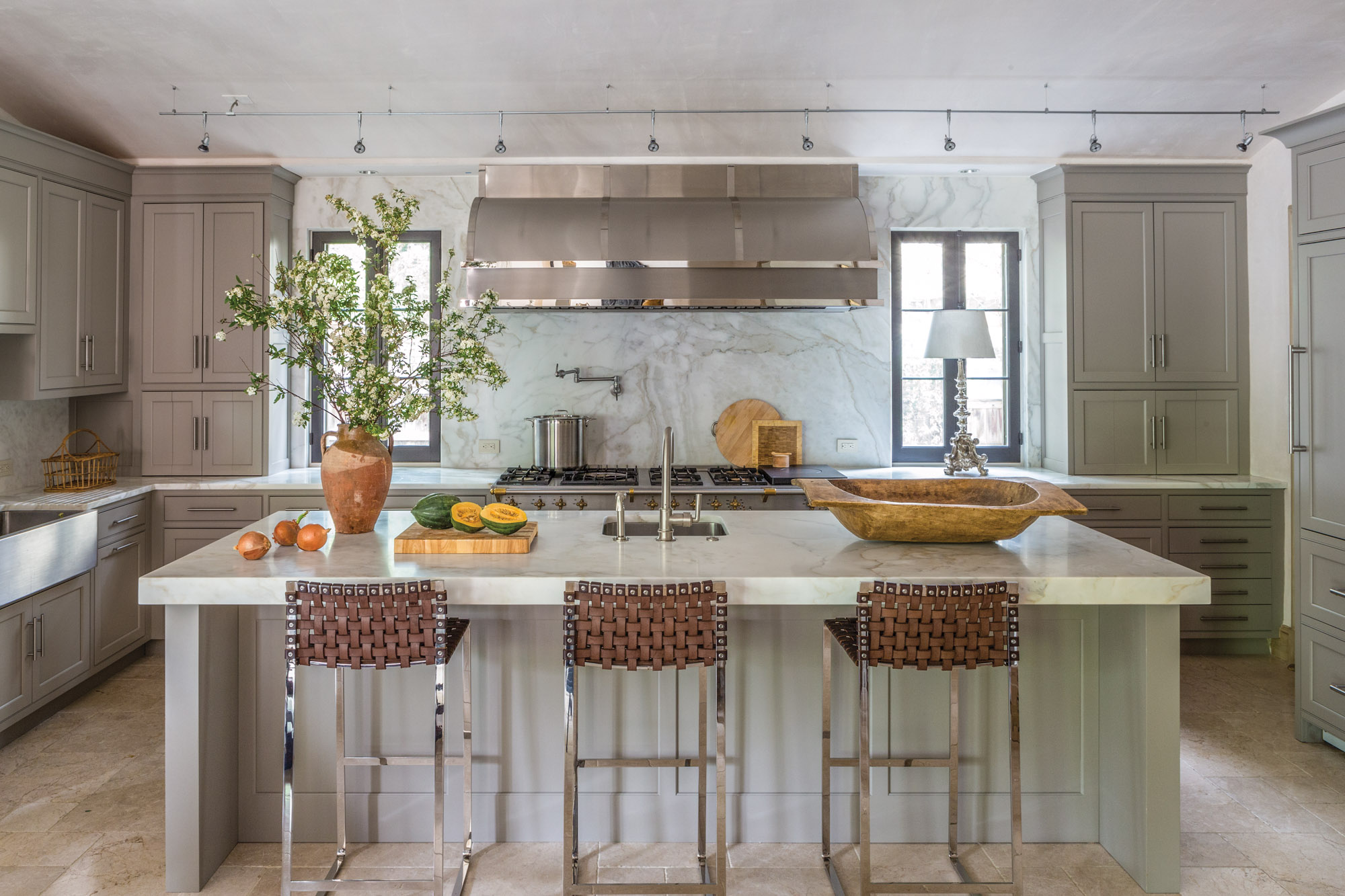 Mid-Atlantic Mediterranean Kitchen