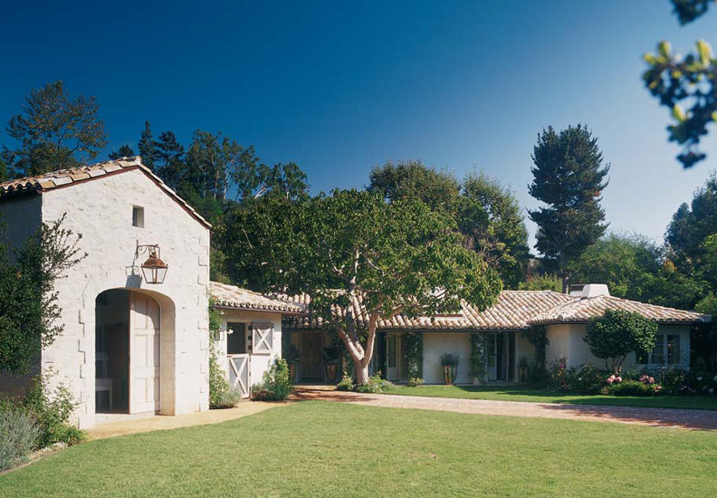 ranch home with hip roof and covered entrance design ideas the house designers The suburban ranch house, born in Southern California, boasts simple,  utilitarian designs.