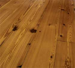 Reclaimed heart pine flooring (Carlisle Wide Plank Floors)