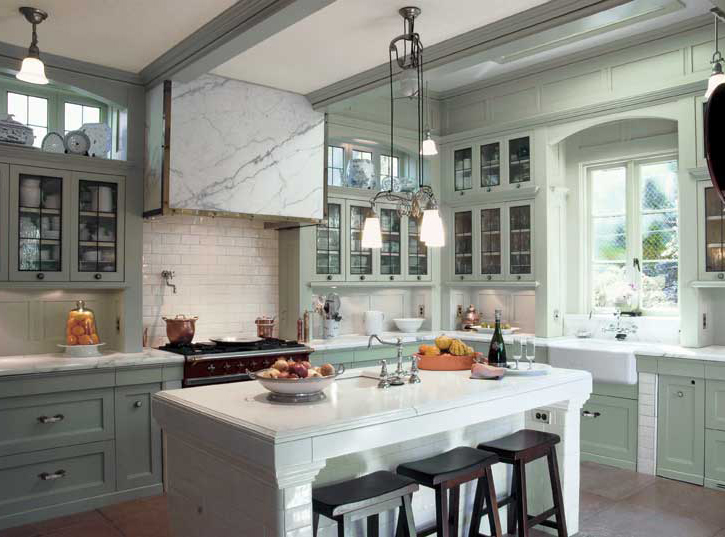 A Classic Kitchen For An Edwardian Renovation