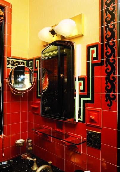 Art Deco Lighting For The Bathroom Old House Journal Magazine