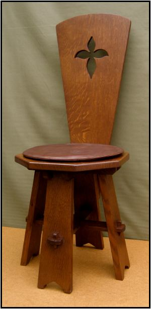 Reproduction Maybeck hall chair, S.D. Murphy