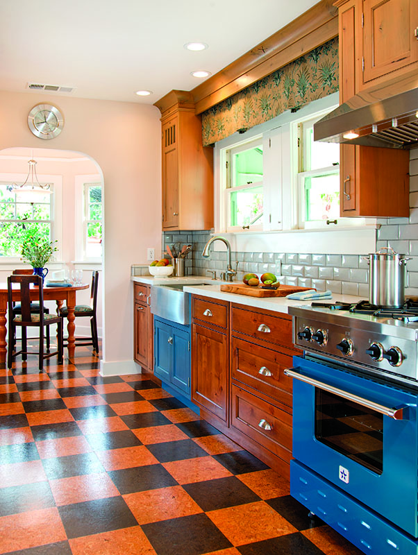 Hard Working Floors Best Bets For Kitchens Old House Journal Magazine