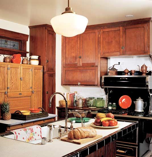 Revival kitchen bungalow kitchen