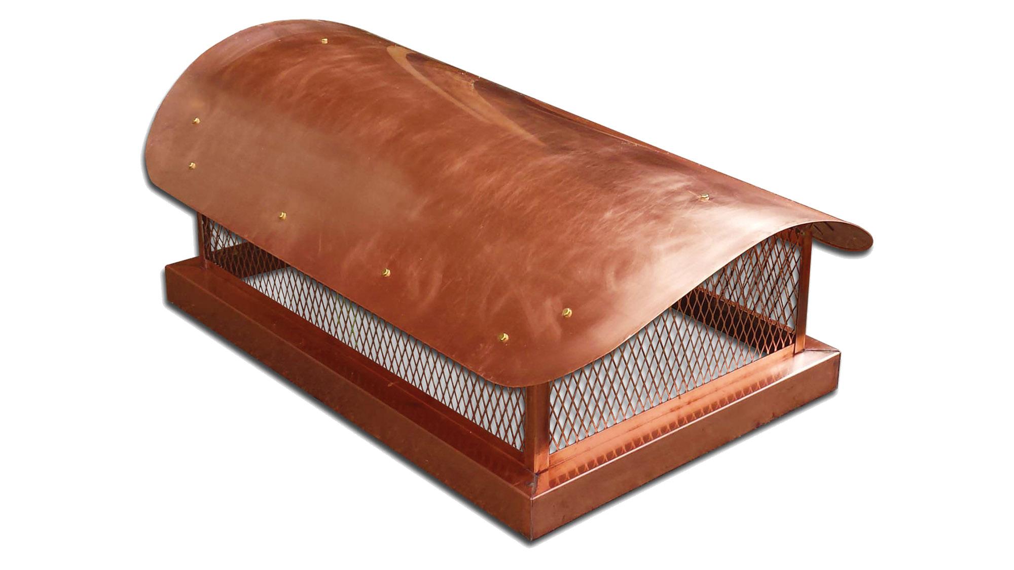 copper chimney cap