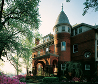 Romanesque in Savannah, Ga.: red brick, 1887