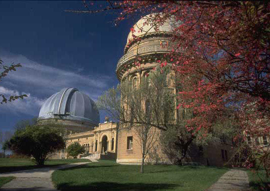 Romanesque Revival style suits the Yerkes Observatory, which was built in 1897. Photo: Walworth County Visitors Bureau.