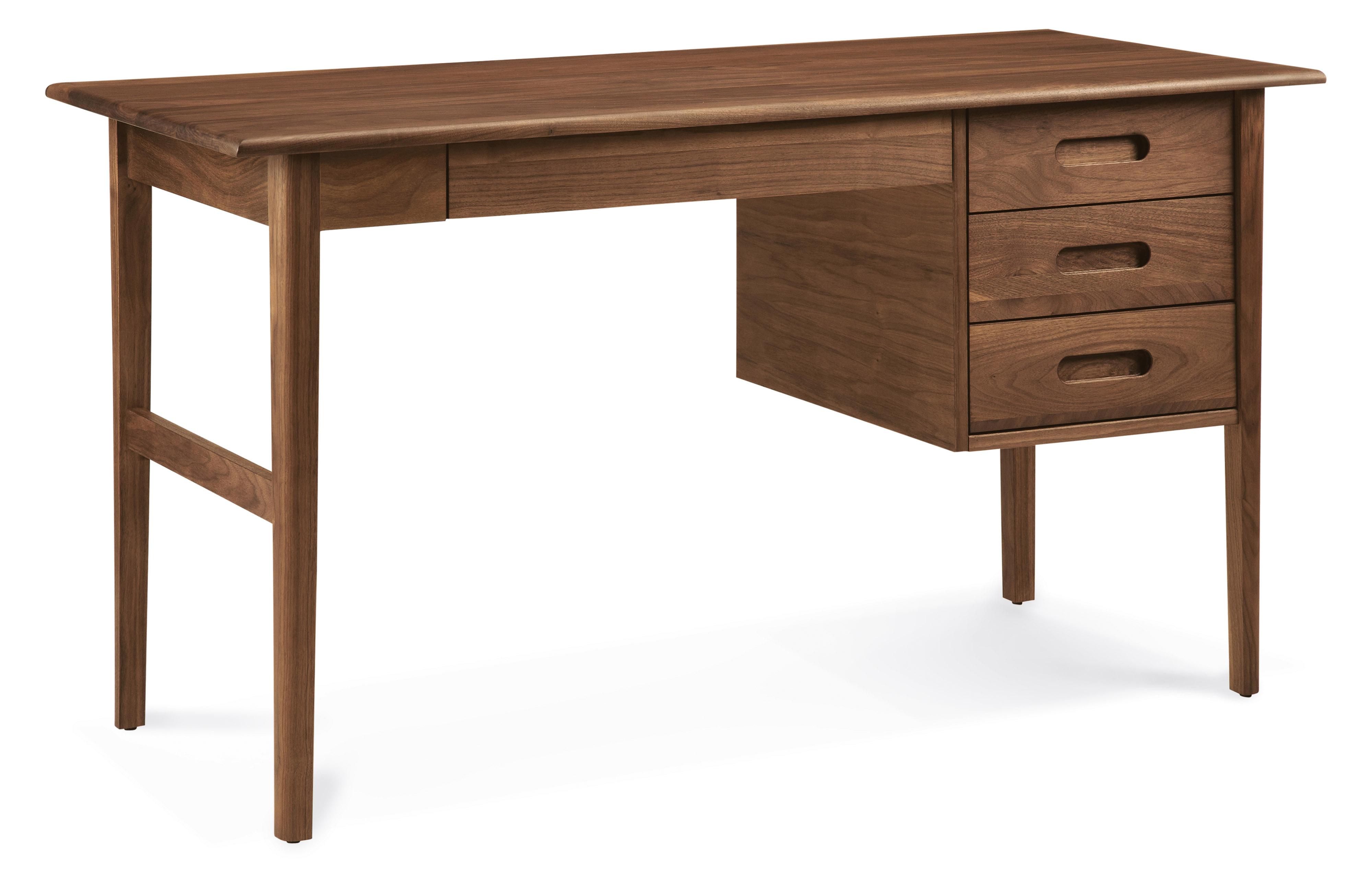 Walnut Henning desk.