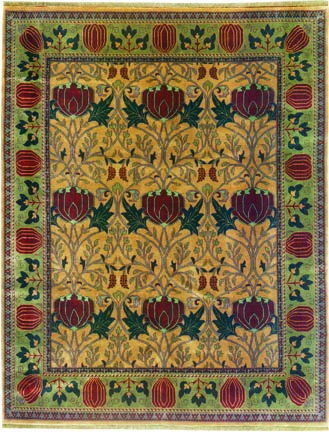 Historic In Origin, The Oak Park Pattern From Persian Carpet Blends Three  Botanical Themes From