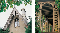 Gothic house details