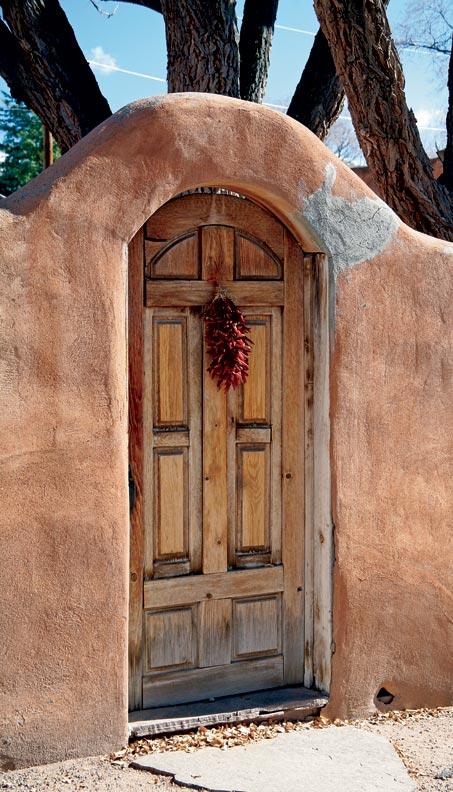 Pueblo Revival Houses In Santa Fe Old House Restoration
