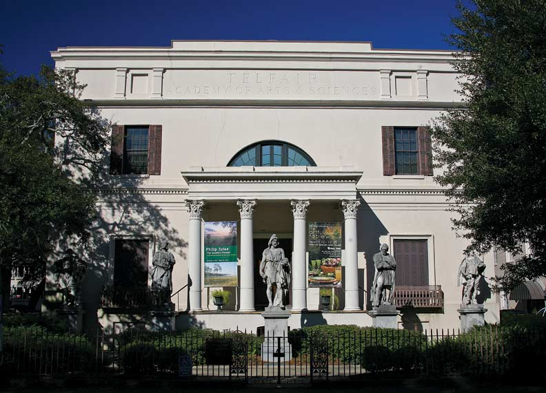 The 1818 Telfair House, a Regency masterwork by architect William Jay, has for many years been used as an art museum.