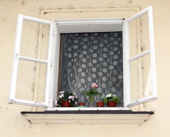 Opening windows at key times during the day can be an energy-saver by encouraging natural ventilation.