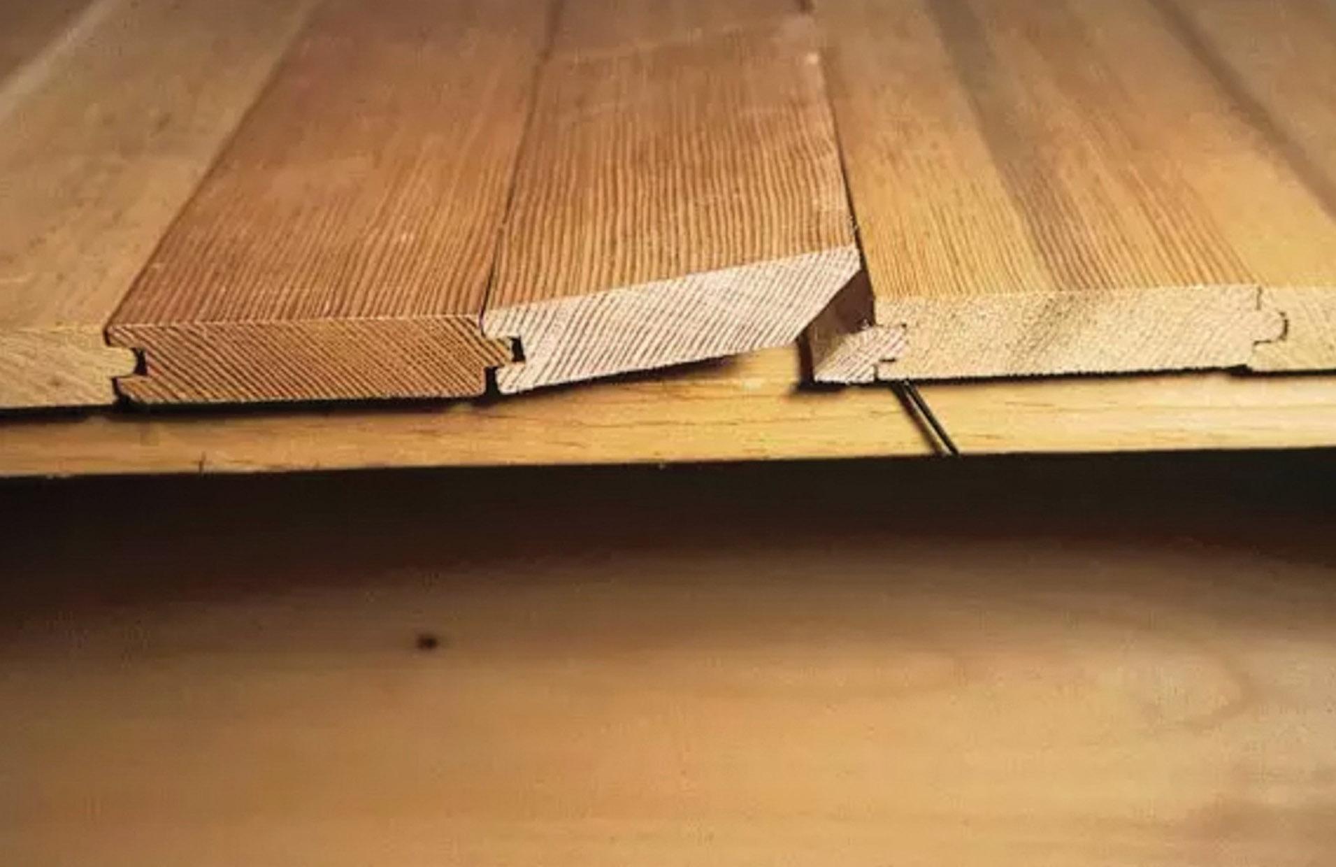 cheating wood floor installation