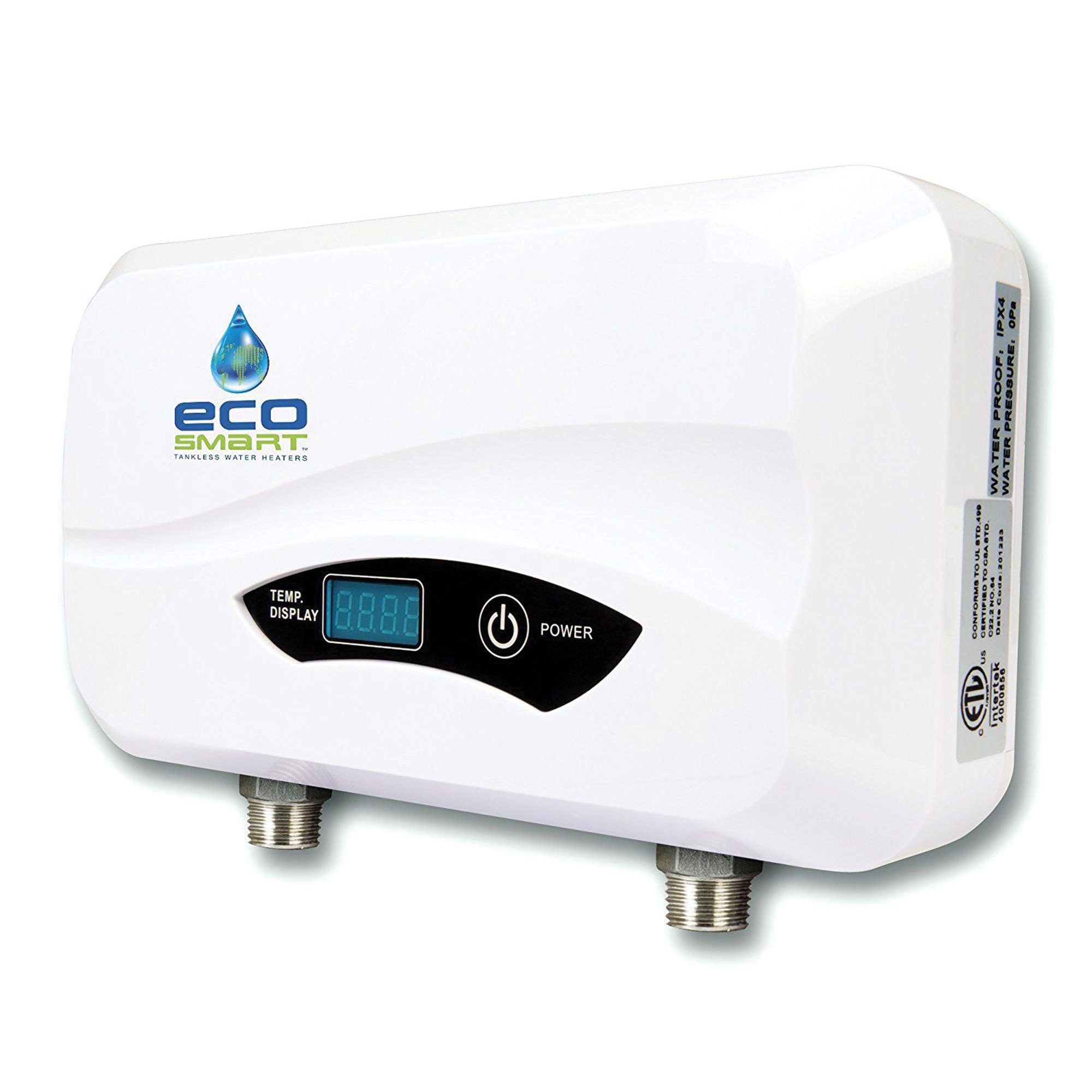 tankless water heater from EcoSmart