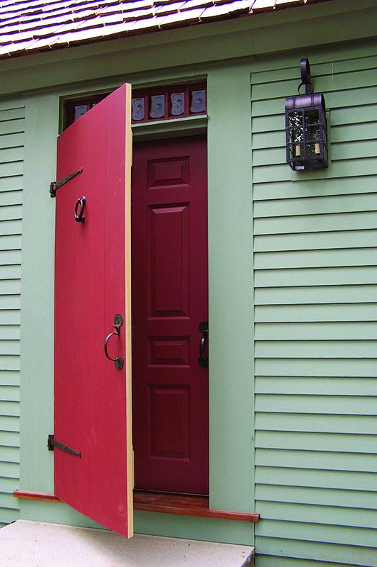 restored plank storm door