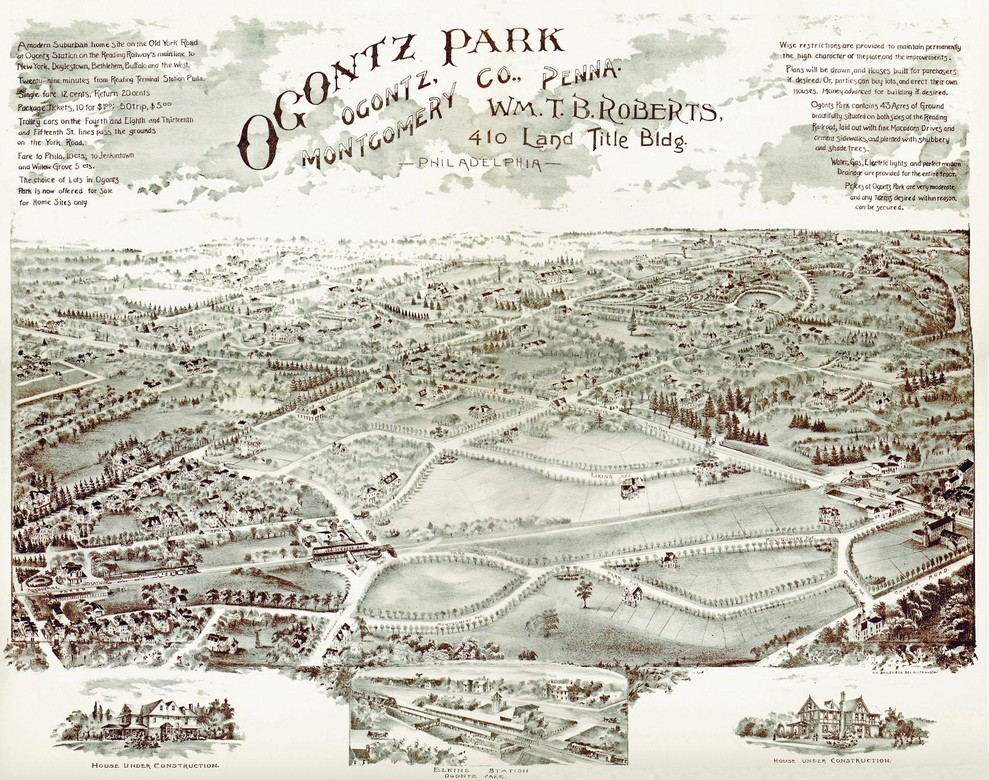Ogontz developer's map