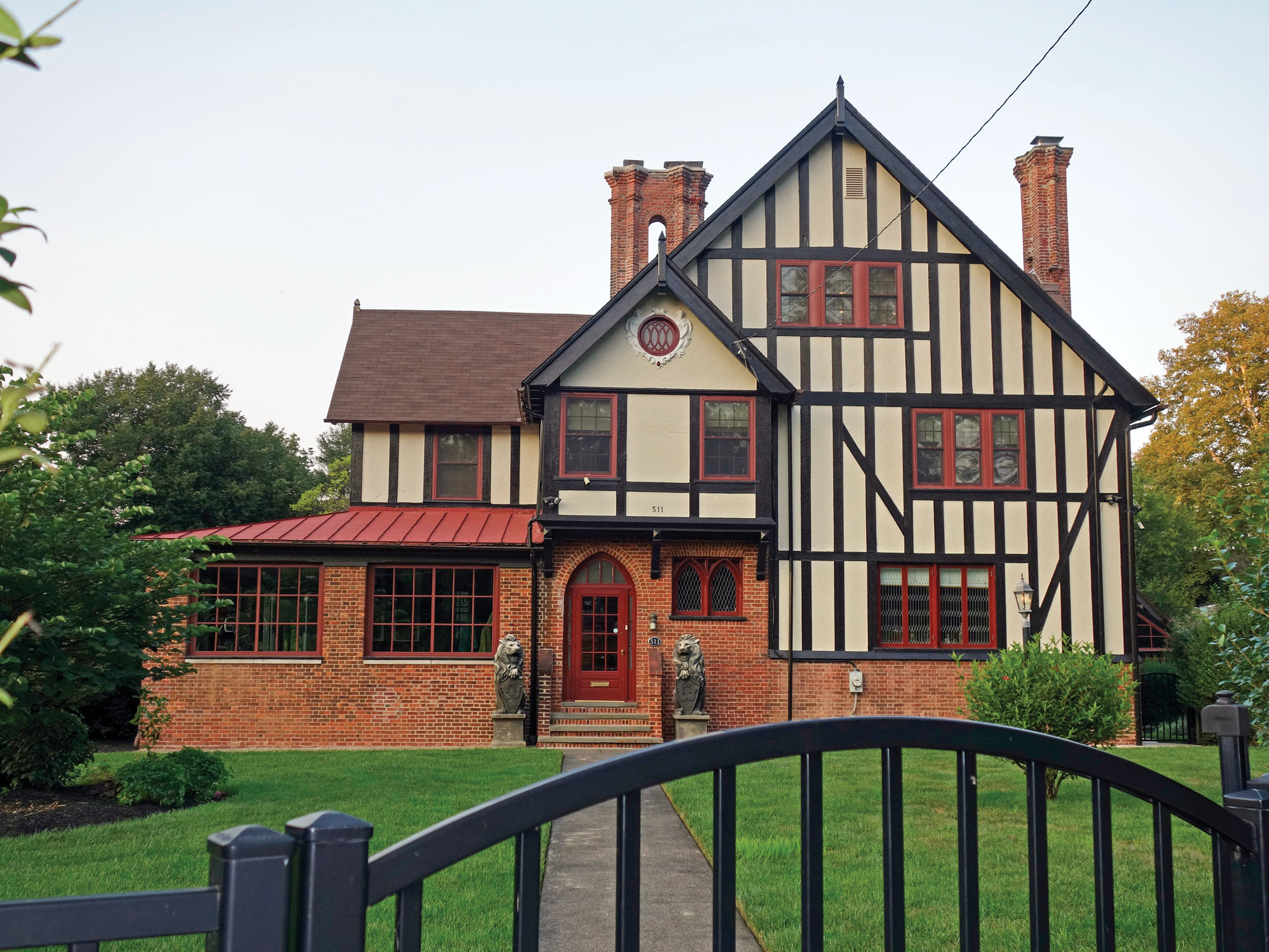 House styles in Ogontz Park