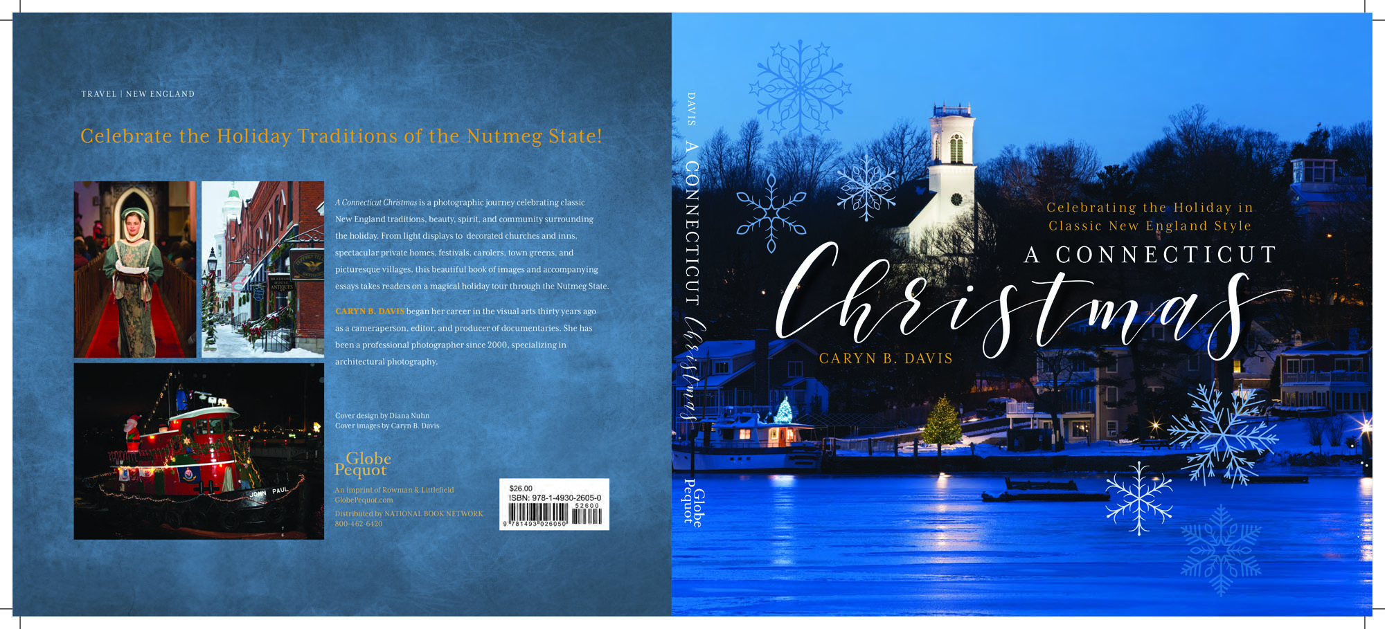 A Connecticut Christmas by Caryn B. Davis. Globe Pequot, 2017.