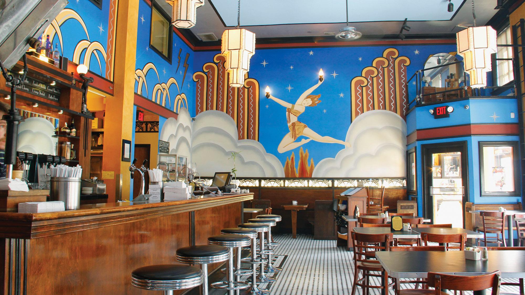 murals by artist Joy Christensen