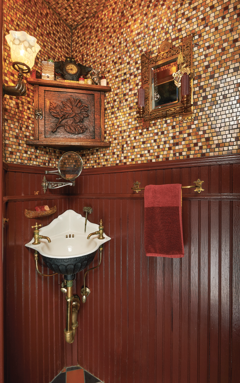 Designing Powder Rooms And Half Baths Old House Journal Magazine