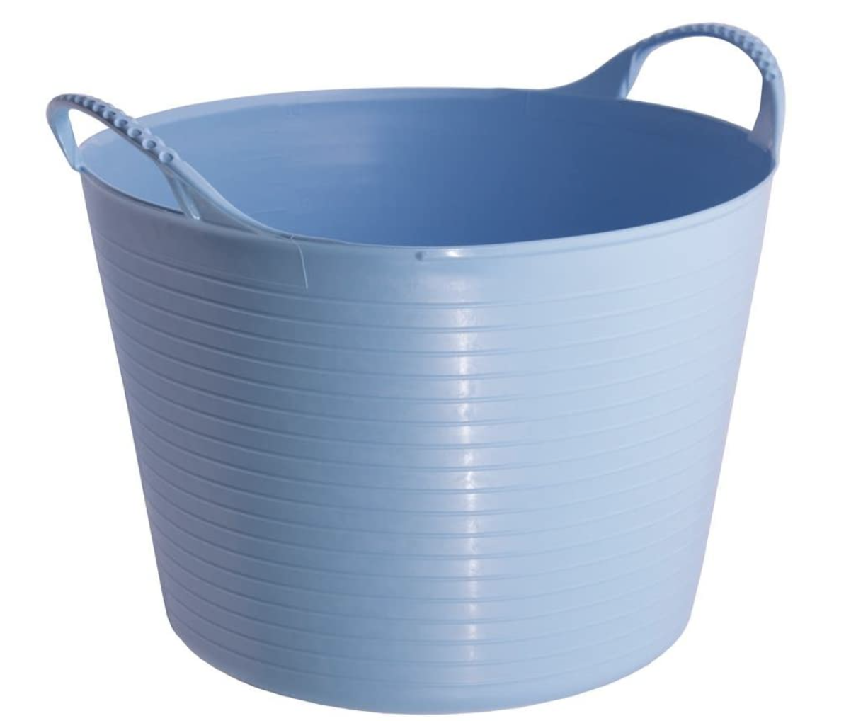 Convenient, twistable, and versatile tubs that come in various shapes, sizes, and colors.Find it here.