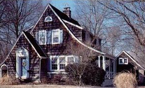 """Built in 1931, this """"Cedars"""" in St. Louis was a popular house design from the Sears Honor Bilt Modern Homes catalog."""