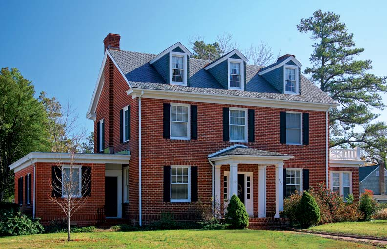 A popular Colonial Revival design, this Lexington model was sold from 1921-26.