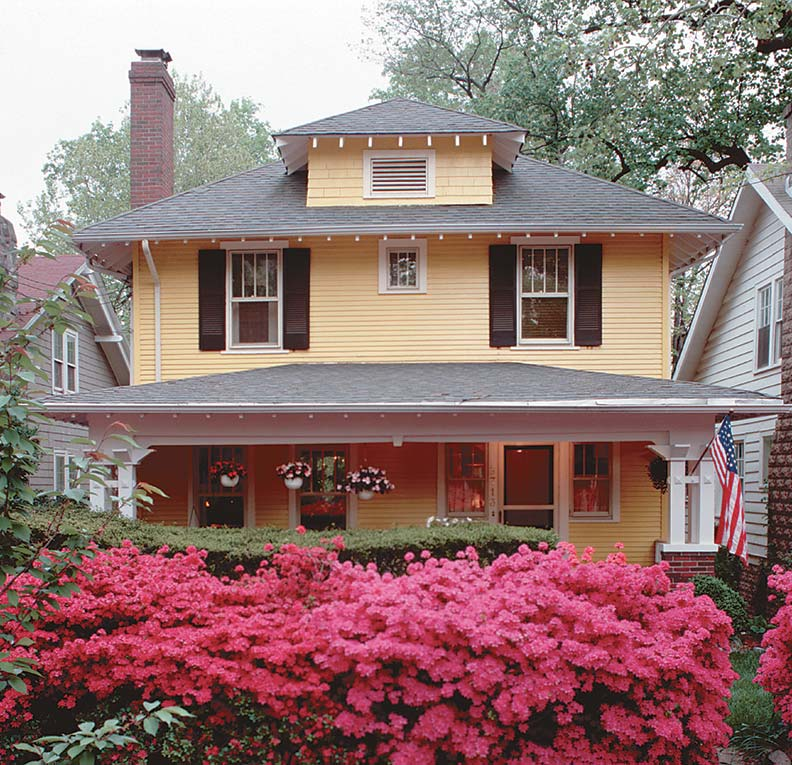 Straightforward to build and practical to won, houses like the Woodland (1913 to 1933) appear in almost every catalog.