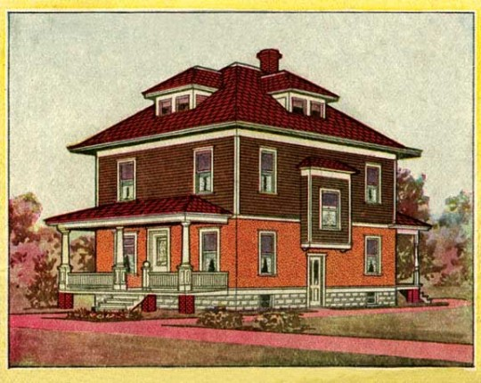sears kit house, sears kit colors