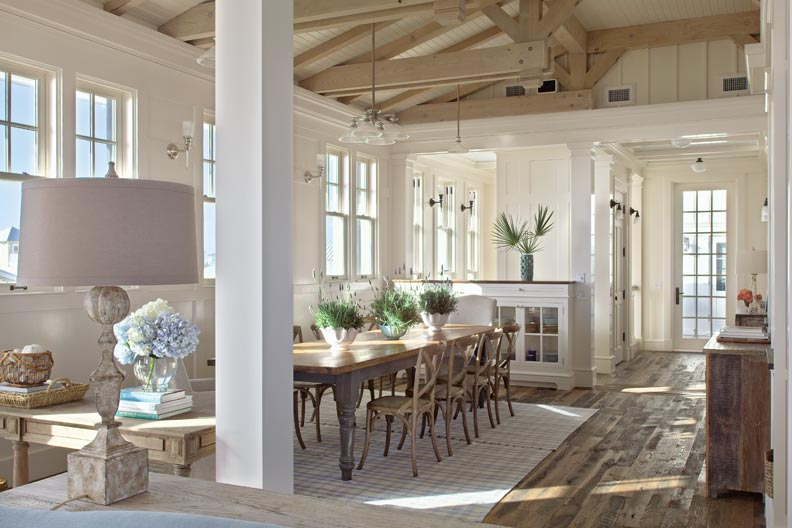A Fresh Beach House Kitchen Old House Restoration Products Decorating