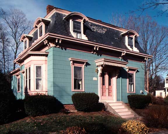 The Mania For Mansard Roofs Old House Restoration