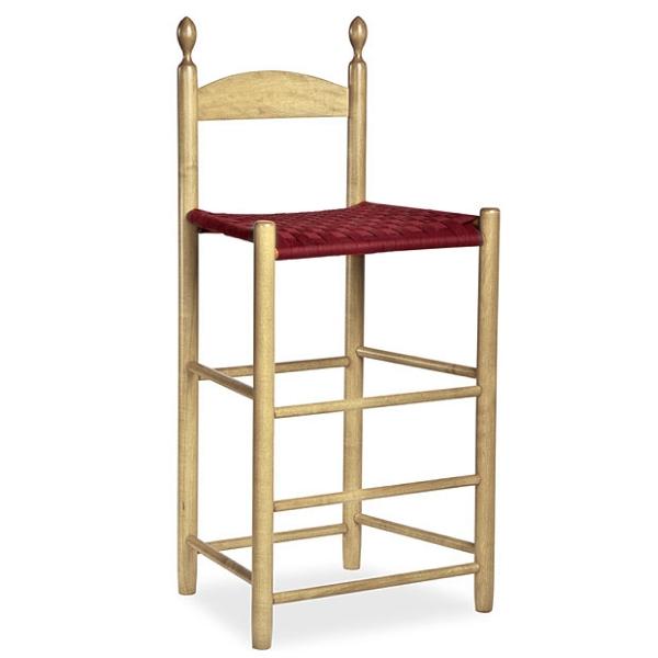 Shaker Workshops photo of Shaker Weaver's Chair in Maple