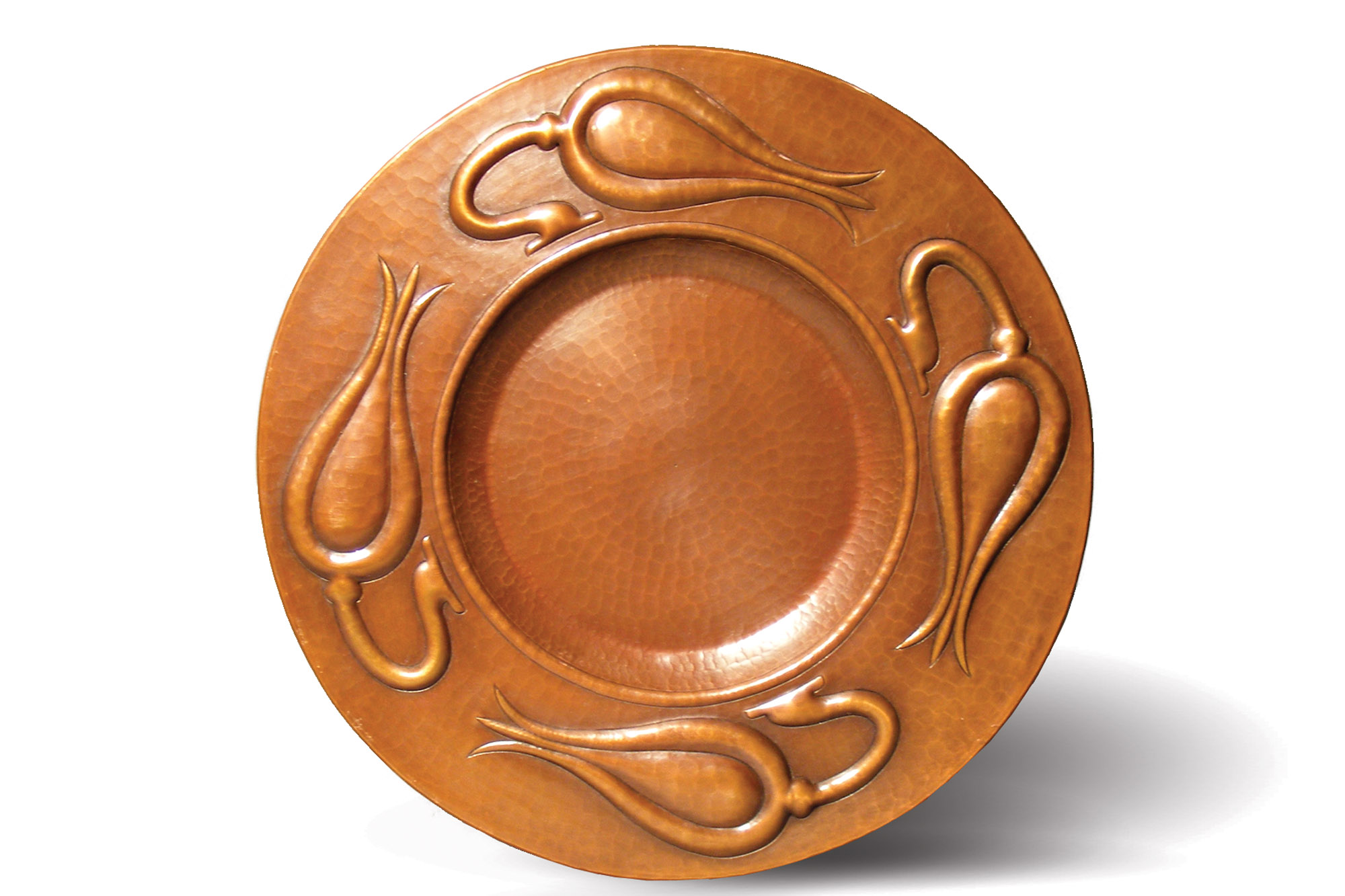 Seed Pod copper platter