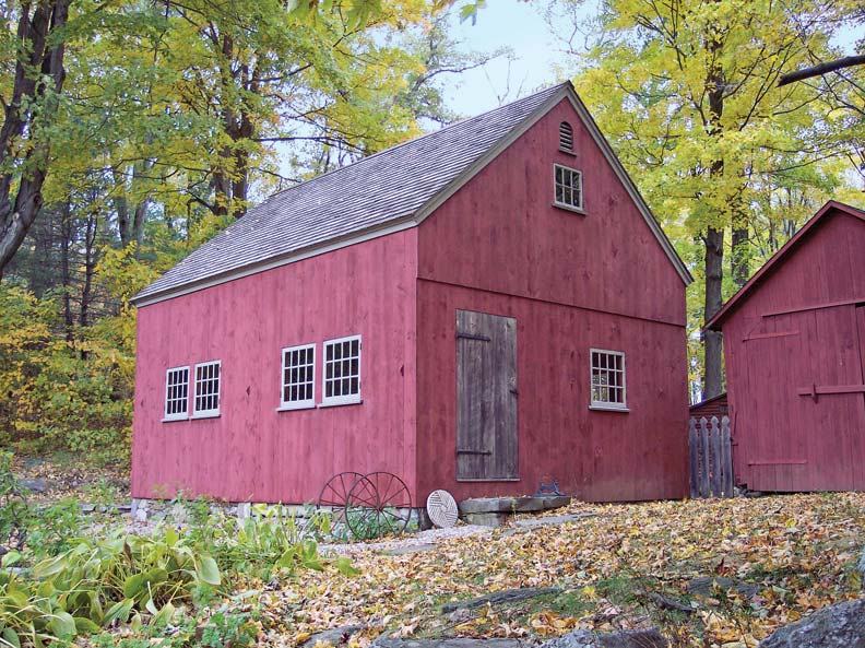 How to design a shed for your old house old house for Online barn designer