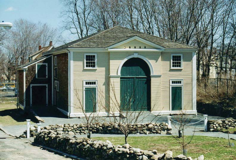 Recent projects at the Shirley Eustis House include saving the nearby Ingersoll-Gardner Carriage House by dismantling it and moving it to the property.