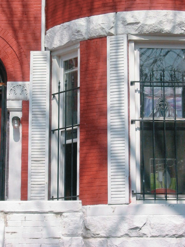 Whether operable or not, shutters must always be wide enough to cover the entire window when closed.