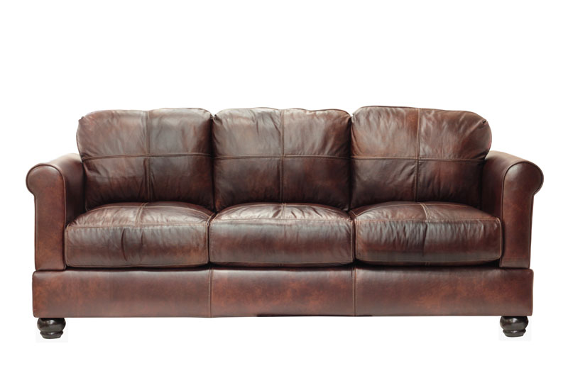 simplicity sofa Full Size Megan Leather Sofa