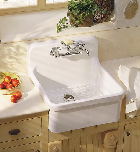 Sink ideas for old house kitchens old house restoration for Odd size kitchen sinks