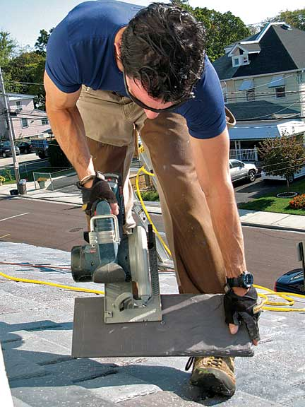 Cutting tile to fit