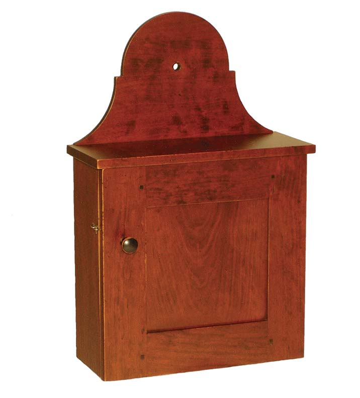 Small hanging cupboard in cherry from Benner's Woodworking