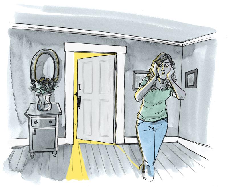 farmhouse doors swings open