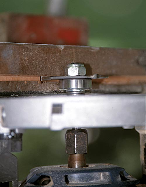 """Cut the flange with a router and 1/8"""" bit, or whatever size produces a good fit."""