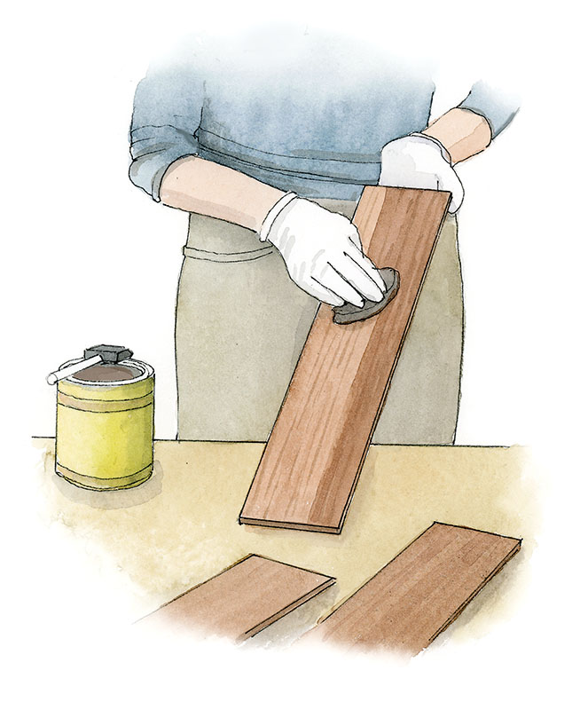 Staining (Illustration: Rob Leanna)