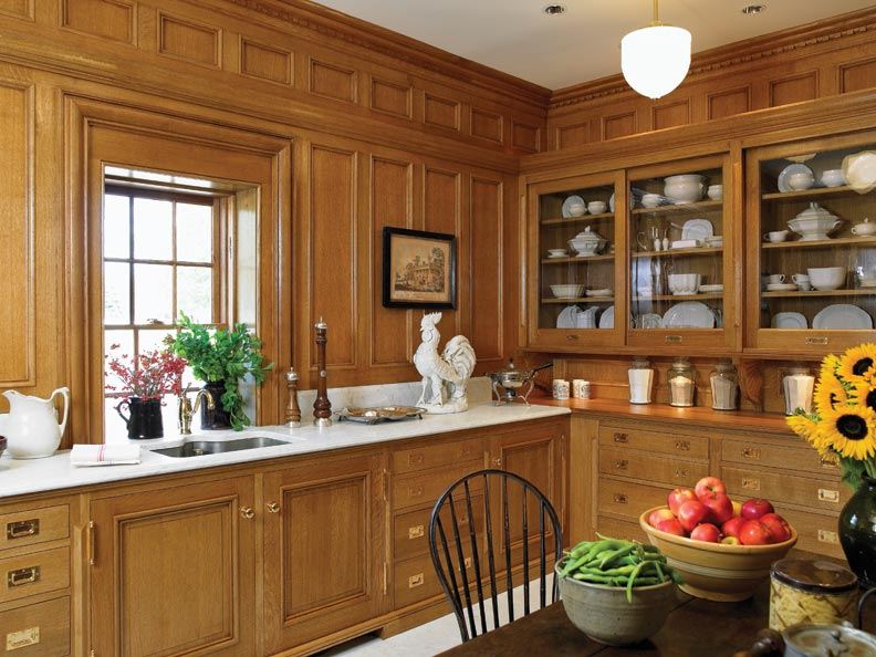 Designer Sarah Blank re-created the Ogden Mills pantry designed by architectural legend Stanford White.